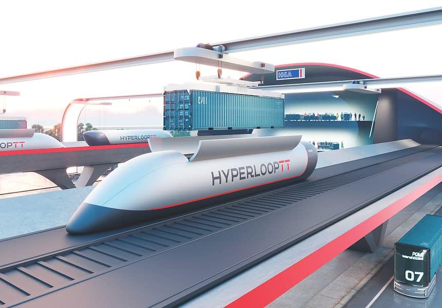 Hyperloop demonstreert ITS in Hamburg
