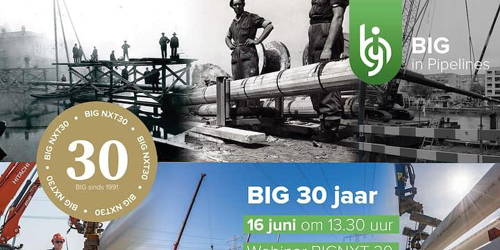 BIG in Pipelines viert 30 jarig jubileum